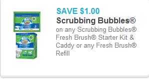 Scrubbing Bubbles Coupon