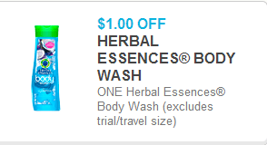 Herbal Essences Body Wash Coupon