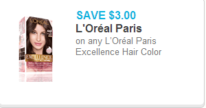 L'Oreal Excellence Coupon