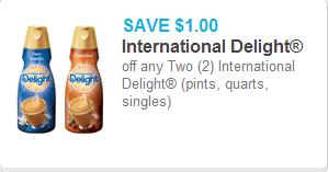 International Delight Creamer Coupon