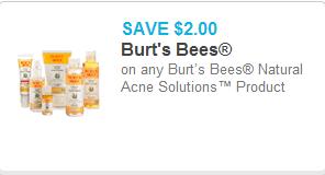 Burts Bees Coupon