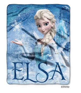 "Disney Frozen Elsa Palace 40"" x 50"" Silk-Touch Throw"