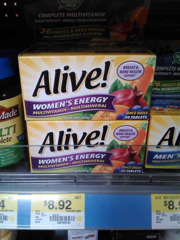 Alive Vitamin 4-20-12