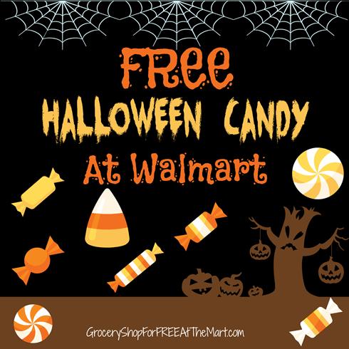 FREE Halloween Candy At Walmart