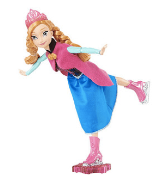 Disney Frozen Skating Anna Doll