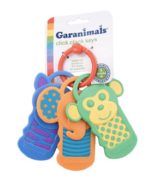 Garanimals Baby Click Clack Teething Keys Only $2 + FREE Store Pick Up!