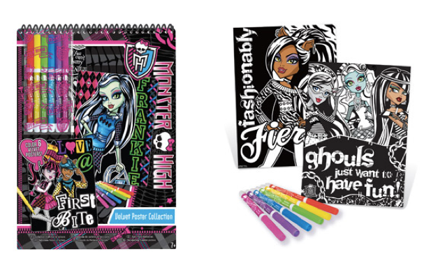 Monster High Velvet Poster Collection Only $7.50 + FREE Store Shipping!