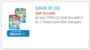 Soft Scrub Toilet Care Rim Hangers
