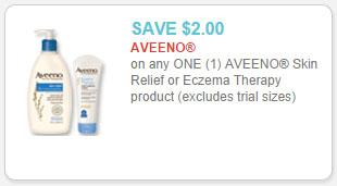 aveeno skin relief coupon