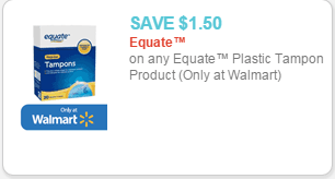 Equate Coupons