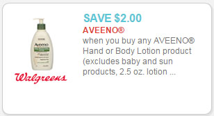 aveeno lotion coupon