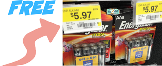 FREE Energizer Batteries