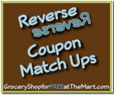 Walmart Reverse Coupon Matchup
