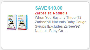 zarbee's baby cough syrup coupon