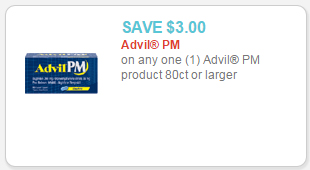 advil pm coupon