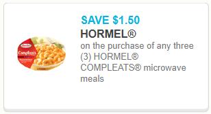 Hormel Compleats
