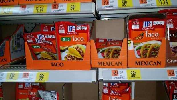 McCormick Taco Seasoning Deal