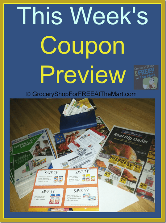This Week's Coupon Preview