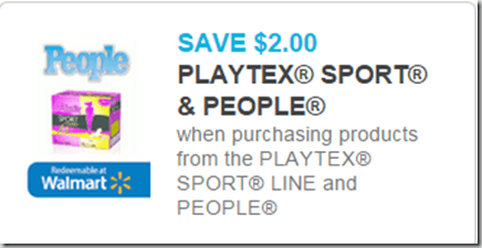 New Coupons for People Magazine and Walmart Matchups!