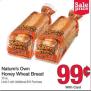 Walmart Price Match Deal Nature S Own Honey Wheat Bread