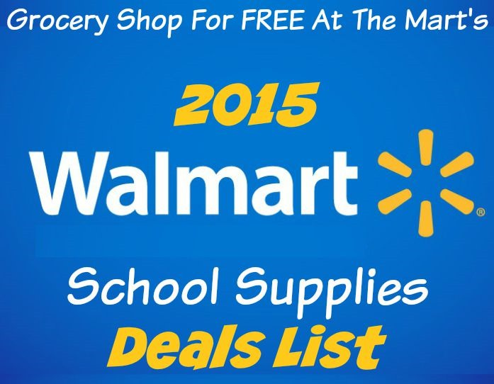 Who has the best deals on school supplies 2018