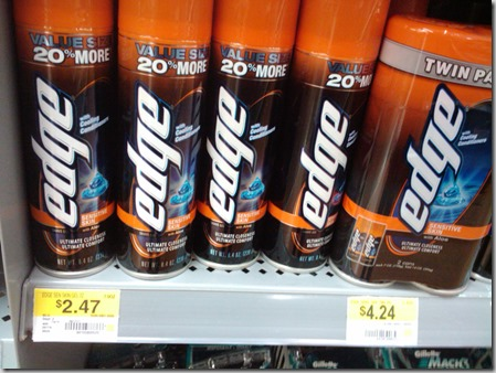New Printable Coupons for Schick Razors and Edge Shave Gel!
