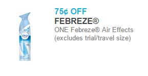 Febreze Product Starting at $1.25 at Walmart!