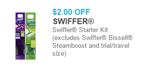 Swiffer Products Starting at $2.44 at Walmart!