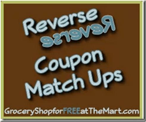 7/5 Reverse Coupon Matchups!