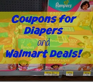 Printable Coupons for Diapers and Walmart Deals!