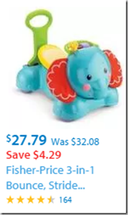 Fisher Price 3-in-1 Elephant Just $27.79!