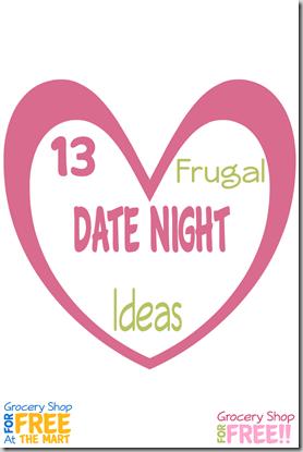 13 Frugal Date Night Ideas! pin