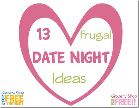 13 Frugal Date Night Ideas!
