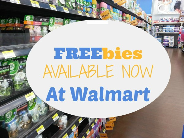 UPDATED: 7 FREE Products Available NOW at Walmart!