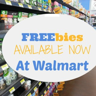 UPDATED: 14 FREE Products Available NOW at Walmart!