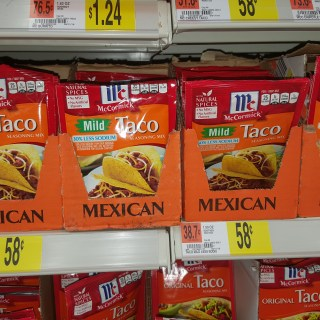 McCormick Taco Seasoning Mix Just $0.33 Each At Walmart!