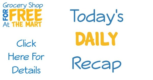 10/26 Daily Recap: FREE Tic Tac Mixers and More!