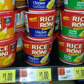 Rice A Roni Just $0.62 at Walmart!
