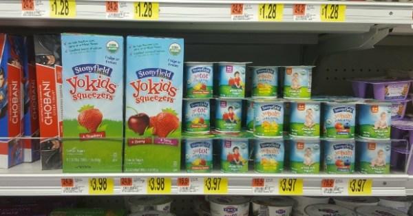 Stonyfield YoKids Squeezers Yogurt Just $2.73 At Walmart!