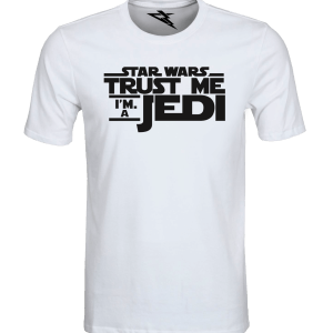 T-Shirt STAR WARS JEDI WHITE