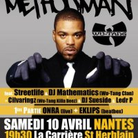 Gig: METHOD MAN/ONRA (Nantes)