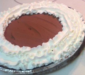 Easy Peasy Holiday Chocolate Pie