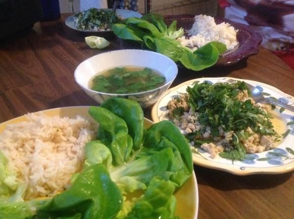 Thai Chicken Larb recipe