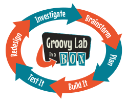 Logo for Groovy Lab in a Box - STEM Subscription Boxes for Kids