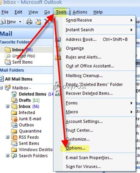 Disable Microsoft Outlook 2007 and 2003 Email Auto Complete