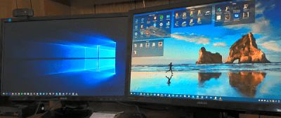 How to Set Different Wallpaper Backgrounds On a Dual-Monitor Setup