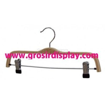 Hanger Gantungan Jepit Kayu Zara Grosir Display