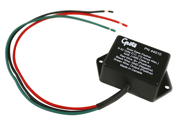 44010 - Solid-State Electronic Flasher, 3-Wire