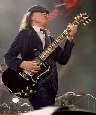 Black Hole Live Wallpaper Angus Young S Guitars And Gear
