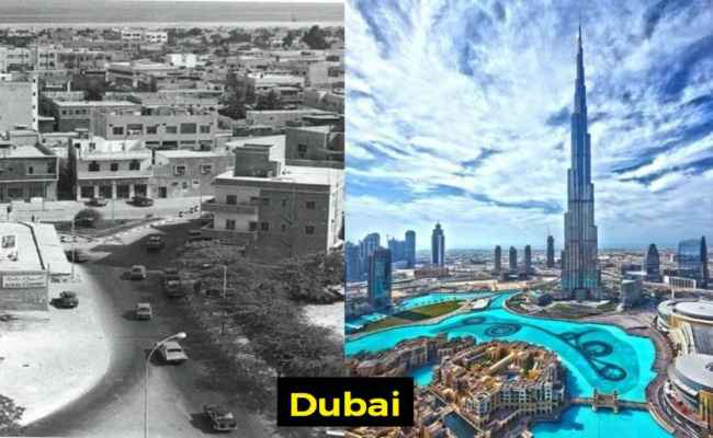 10 Before And After Photographs Of Famous Cities Will Stun You